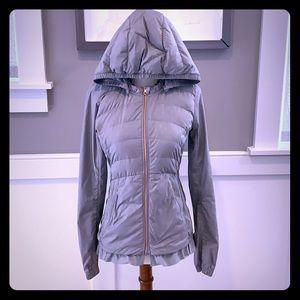 Lululemon Puffer Jacket w/ Pleated Hem